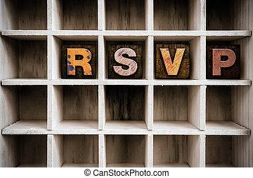 概念, 凸版印刷, 木製である, 引き出し, タイプ, rsvp