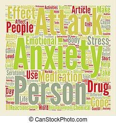 概念, 単語, テキスト, 解剖学, 攻撃, 心配, 背景, 雲