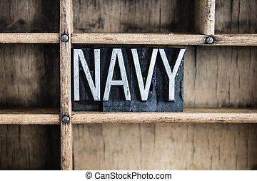 概念, 単語, 凸版印刷, 金属, 引き出し, 海軍