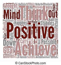 概念, 単語, 力, テキスト, 考え, 背景, ポジティブ, 雲