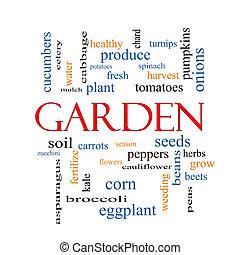 概念, 単語, 庭, 雲