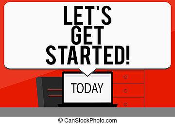 概念, 単語, 時間, ビジネス, 得なさい, 引用, 動機づけである, 執筆, s, そうさせられた, encourage., テキスト, 始まり, started., インスピレーシヨン
