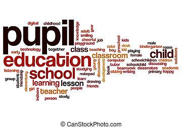 概念, 単語, 生徒, 雲