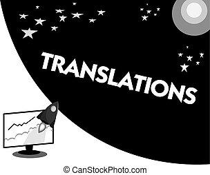 概念, 単語, 言語, ビジネス, プロセス, テキスト, 執筆, 翻訳, テキスト, translations., もう1(つ・人), 1(人・つ)