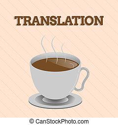 概念, 単語, 言語, ビジネス, プロセス, テキスト, 執筆, 翻訳, translation., もう1(つ・人), 1(人・つ), 言葉