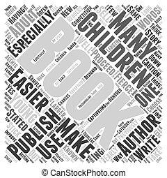 概念, 単語, childrens, それ, 出版しなさい, 本, easier, 雲
