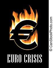 概念, 危機, ユーロ