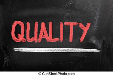 概念, 品質