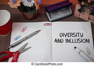 概念, 多様性, テキスト, 意味, inclusion., 含む, 範囲, レース, huanalysis, gender., 手書き, 相違, 民族性