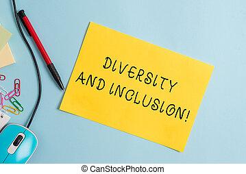概念, 多様性, 相違, テキスト, 意味, inclusion., 含む, 範囲, レース, huanalysis, gender., 手書き, 執筆, 民族性