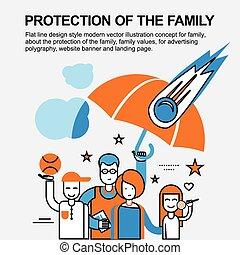 概念, 家族, 保護