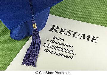 概念, 履歴書, 成功した, 切望された, 方式, 雇用