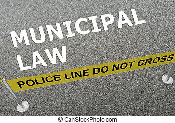 概念, 市の, 法律