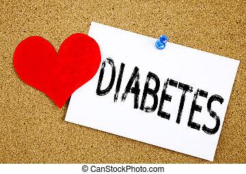 概念, 愛, 背景, インシュリン, スペース, 糖尿病, テキスト, 提示, 病気, 執筆, キャプション, 書かれた, メモ, 手, 概念, メモ, 付せん, 医学, コルク, インスピレーシヨン