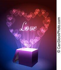 概念, 愛, 贈り物