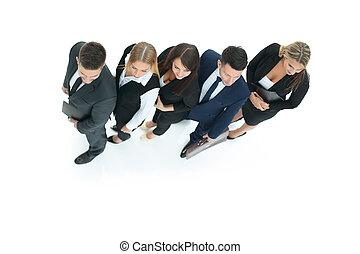 概念, 成功, ビジネス, キー, チーム, 専門家