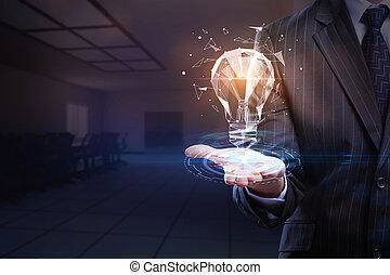 概念, 成功, 革新