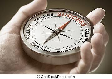 概念, 戦略上である, 作戦, 成功した, vision., ビジネス