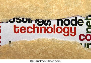 概念, 技術