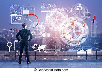 概念, 技術, 金融, analytics