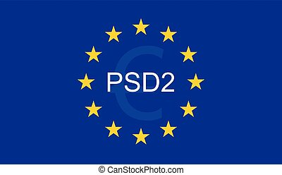 概念, 指導的, サービス, 2, (psd2), 支払い