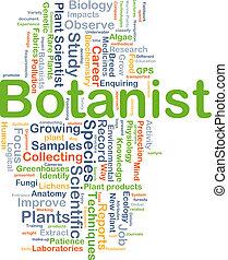 概念, 植物学者, 背景