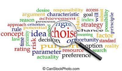 概念, 権利, 選択