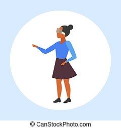 概念, 現代, vr, フルである, によって, 女性, 女の子, 技術, ヘッドホン, 特徴, アメリカ人, バーチャルリアリティ, デジタル, 3d, 身に着けていること, 平ら, 女, 漫画, 経験, 長さ, アフリカ, ビジョン, ガラス