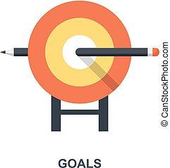 概念, 目标, 图标