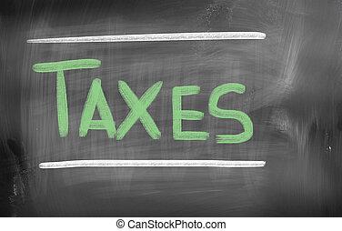 概念, 税