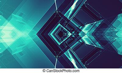 概念, 空間, 摘要, technology., 背景。, 未來, 未來
