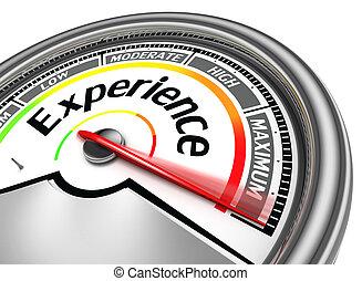 概念, 経験, メートル