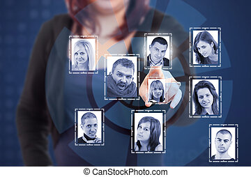 概念, 网络, 社会