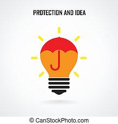 概念, 考え, 創造的, 脳, デザイン, 背景