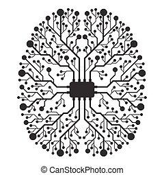 概念, 脳, 機能, 権利, 左