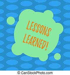 概念, 色, テキスト, 抽象的, photo., 形, ブランク, 執筆, レッスン, ∥そうするべきである∥, 取られる, 円, ありなさい, ビジネス, learned., 経験, 口座, 単語, ゆがめられた, 未来, 小さい, ラウンド
