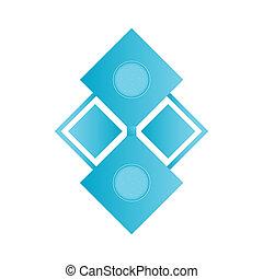 概念, 芸術, 財産, 抽象的, infographic, ロゴ, デザイン, 網, 隔離された, 媒体, 創造的, 背景, テンプレート, イメージ, 実質, ビジネス, シンボル, イラスト, アプリケーション, モビール, 社会, アイコン
