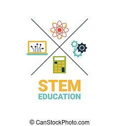 概念, 茎, 教育