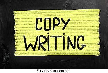 概念, 著作権