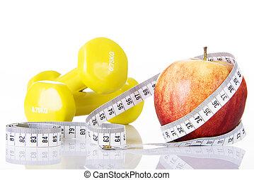 概念, 蘋果, 飲食