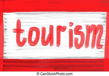 概念, 観光事業