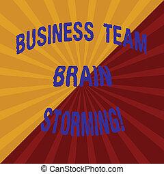 概念, 調子, テキスト, photo., 脳, 光線, グループ, 仕事, 分けられる, 2, 執筆, storming., sunburst, 爆発, ビジネス, 対角線, 効果, 線, 単語, ミーティング, 仕事のチーム, 企業である
