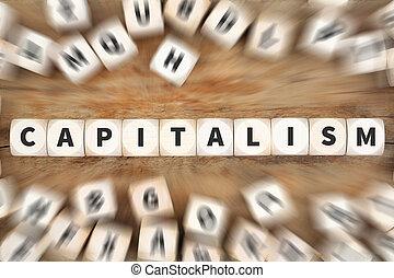 概念, 財政, さいころ, ビジネス, お金, 資本主義, 豊富, 政治, 経済