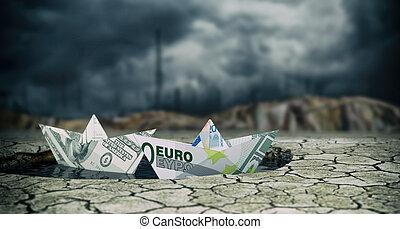 概念, 財政, 危機