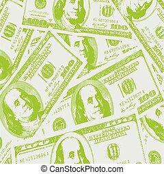 概念, 財政, 所得, バックグラウンド。, アメリカのドル, vec