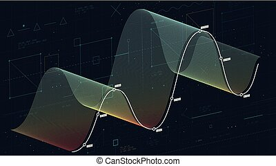 概念, 財政, 金融, データベース, 大きい, 抽象的, 分析, 波, 複合センター, 背景, 技術, データ, 糸