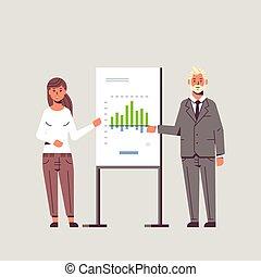概念, 財政, businesspeople, フルである, セミナー, 会議, スピーカー, グラフ, 板, 協力者, プレゼンテーション, 平ら, 女性ビジネス, 恋人, チャート, 人, とんぼ返り, 長さ, 提出すること, meting, 作成