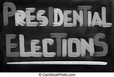 概念, 選挙