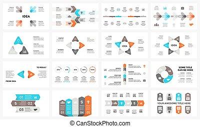 概念, 部分, 6, template., processes., グラフ, 4, 16x9, 8, 円, プレゼンテーション, ビジネス, オプション, 7, ステップ, 周期, 図, infographic, 矢, chart., 5, スライド, ベクトル, 3