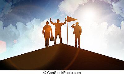 概念, 配合, 商人, 成就